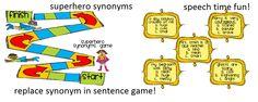 Speech Time Fun: Superhero Synonyms