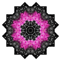 Pink and black rose mandala by Tracey Lee Everington Framed Prints, Canvas Prints, Art Prints, Art Designs, Art Boards, Chiffon Tops, Duvet Covers, Mandala, Birthdays