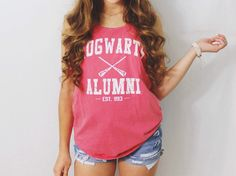 Harry Potter Clothing Hogwarts Alumni Tank by PerksOfBeingaWeasley