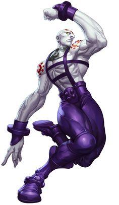 """Necro - Street Fighter III: Third Strike Online Edition  Art by Stanley """"Artgerm"""" Lau"""