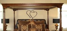 Overlapping Hearts Wall Decal