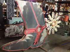 Vintage COWBOY BOOT with ANIMATED Spur! Neon Sign