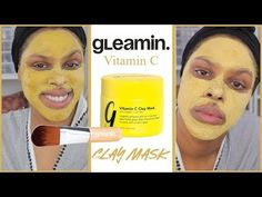 (60) I TRIED THE GLEAMIN TURMERIC FACE MASK & THIS IS WHAT HAPPENED! - YouTube Curly Half Wig, Half Wigs, Wig Hairstyles, Straight Hairstyles, Turmeric Face Mask, Clay Face Mask, Clay Faces, Bare Face, Trends