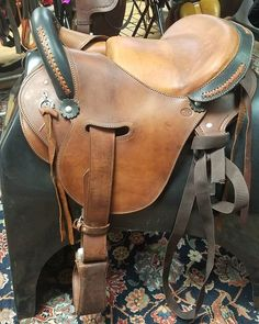 Tennessee Tack Exchange Inc On Instagram New Ctk Tereque Saddle Model Tas016 Seat Size 16 Brown W Black Braided Pommel Cantle Retails For 904