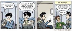 PHD Comics: Taking work home