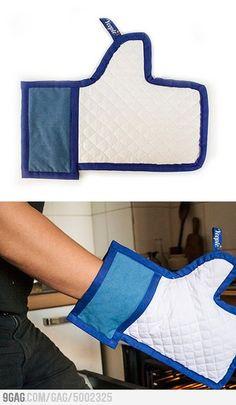 Facebook Kitchen glove