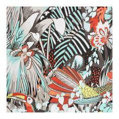 Osborne & Little Jungle Beat Fabric ($86) ❤ liked on Polyvore