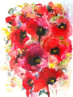 """""""Poppies en masse XII"""""""