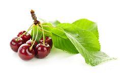 Fresh Cherries With Leaves, by Elena Elisseeva