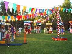 Super mexican party games for kids dia de ideas Fall Carnival, Diy Carnival, Circus Carnival Party, Circus Theme Party, School Carnival, Carnival Birthday Parties, Circus Birthday, Birthday Party Themes, Carnival Games