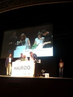 Show cooking #Master chef #Wte Assisi #extravergine Terre Rosse legumi Rolo Agricola stand Assoprol