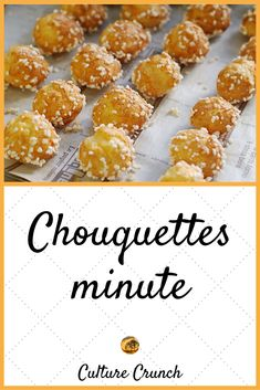Chouquettes: the simple recipe - - Amazing Foods Menu Recipes Kokos Desserts, Easy Desserts, Cake Recipes, Snack Recipes, Dessert Recipes, Spaghetti Eis Dessert, Desserts With Biscuits, Easy Smoothie Recipes, Food Cakes