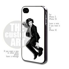Harry Styles One Direction - For iPhone 5,5s NOTE for iPhone 5C | TheCustomArt - Accessories on ArtFire
