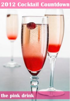 2012 Cocktail Countdown: The Pink Drink | GirlsGuideTo