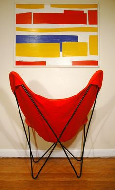 Knoll Hardoy Butterfly Chair Mid Century Modern by JunkHouse, $295.00...i have two of these :)