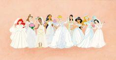 Disney Princess Wedding Dresses Wonderful World 71123 | wedding | princess