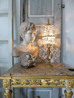 Antike TISCHLAMPE Girandole Frankreich Louis seize   Gustavian