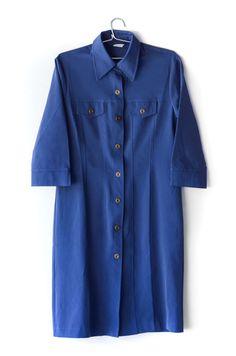Vestido Azul Vintage