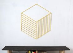 25 Pieces of Geometric Wall Art We Want NOW via Brit + Co.