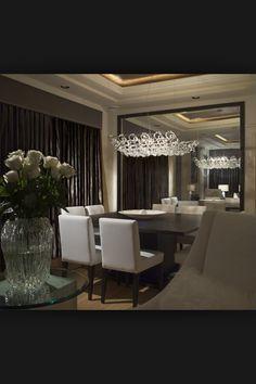 Moderno y elegante comedor