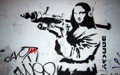 Obras del artista banksy