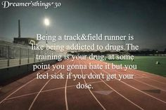 this cant more true any be This cant be any more trueYou can find Track quotes and more on our website Running Memes, Running Quotes, Sport Quotes, Nike Quotes, Running Tips, Motivational Quotes, Cross Country Quotes, Cross Country Running, Running Track