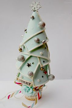 Paper Cup Christmas Tree