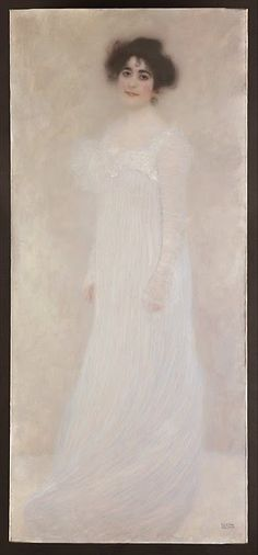 By Gustav Klimt Serena Pulitzer Lederer oil on canvas. Serena Pulitzer Lederer was a star of turn-of-the-century Viennese society. The painting was shown in 1901 at the tenth exhibition of the Vienna Secession Gustav Klimt, Art Klimt, Carl Larsson, Chef D Oeuvre, Oeuvre D'art, Photo Mug, Baumgarten, Kunst Online, Vienna Secession