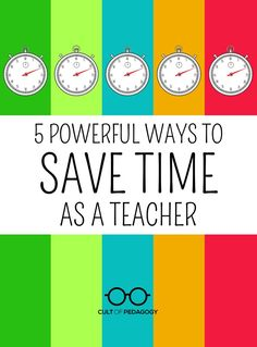 The number one thing teachers need? More time. But helping teachers find more time has always been a problem I couldn't solve. Until now.