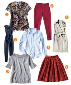 Your Fall Wardrobe in Just 7 Pieces