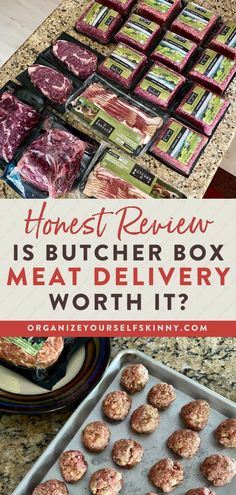Is Butcher Box Meat Delivery Worth It? | Meal Prep for Beginners - Have you been wondering lately: Is ButcherBox worth it? Well, I'm here to help! Here is the full rundown on how ButcherBox Meat Delivery has completely changed my life and meal planning. Plus, I'll share some of my tips on how to make ButcherBox more affordable. Organize Yourself Skinny | Cooking Tips | Healthy Eating #butcherbox #cookingtips #mealprep