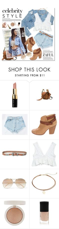 """""""Sin título #269"""" by aa21 ❤ liked on Polyvore featuring Bobbi Brown Cosmetics, Chloé, Levi's, rag & bone, Paige Denim, Topshop and M&S"""