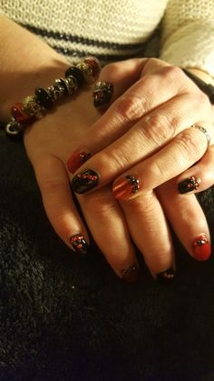 Appetite for destruction nails. Blingtastic