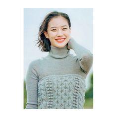蒼井優 Yu Aoi, Turtle Neck, Actresses, Sweaters, Fashion, Female Actresses, Moda, Fashion Styles, Sweater