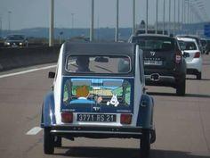 2cv6, Weird Cars, Motor Car, Auto Motor, Amazing Cars, Old Cars, Cars Motorcycles, Vintage Cars, Sailing