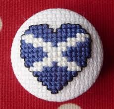 Image result for scottish thistle cross stitch pattern free