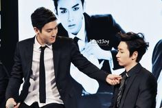 Siwon and Eunhyuk | SJM 'Swing' Press Conference