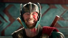 """Thor's character would have been much different in """"Avengers: Infinity War"""" if not for how comical """"Thor: Ragnarok"""" was. But after actor Chris Hemsworth voiced concerns, rewrites were made with input from """"Ragnarok"""" director Taika Waititi. Chris Hemsworth, The Avengers, Captain Marvel, Captain America, Thor Marvel, Thor 3 Ragnarok, Thriller, Films Marvel, Die Rächer"""