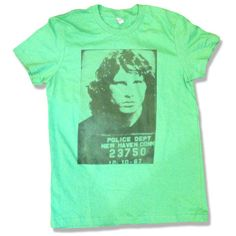 Holiday Sale- 15 Dollars- Jim Morrison Mugshot Shirt All Sizes... ($15) via Polyvore