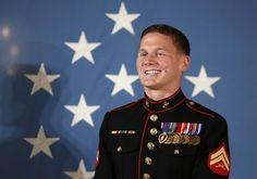 Medal of Honor recipient Kyle Carpenter - June 2014
