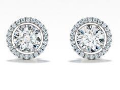 Forevermark diamond earrings