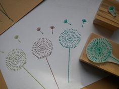 Dandelion and Seed Head Stamp Set (2)