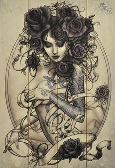 déco intérieur gothique | Alchemy Marques Maison & Déco Gothique Tattoo Plaques Murales Serpent ...