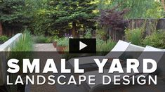 This small yard landscape design was redesigned to fit landscape walls, a pond, raised vegetable gardens, a metal patio cover and more. See how landscape arc. Home Garden Design, Small Garden Design, Small Space Gardening, Little Gardens, Small Gardens, Landscape Plans, Landscape Design, Amazing Gardens, Beautiful Gardens