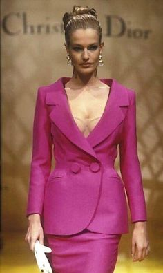 Karen Mulder for Christian Dior,  S/S 1995