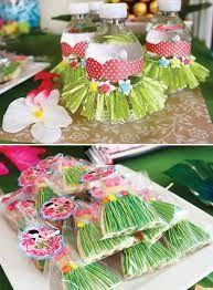 Resultado de imagen para fiestas hawaianas para niñas