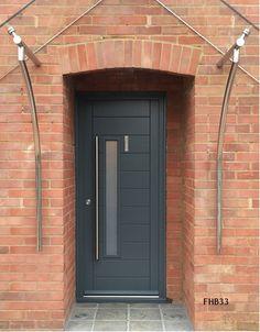 Contemporary Front Doors, oak iroko and other woods, Bespoke Doors Modern Entrance Door, Modern Door, Entrance Doors, Garage Doors, House Window Design, Door Design, Contemporary Front Doors, Contemporary Style, Wooden Door Hangers