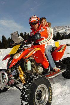 Casey Stoner Drift   Casey Stoner with Adriana