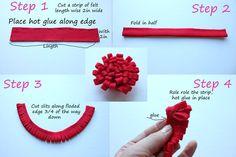 A Rosie Sweet Home: Teacher Appreciation Gift Idea ~ Free Printable ~ Felt flower Tutorial