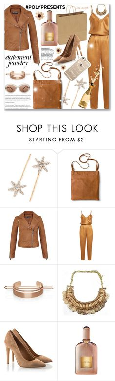 """""""Statement Jewelry: 25/12/17"""" by pinky-chocolatte ❤ liked on Polyvore featuring Jennifer Behr, Merona, Miss Selfridge, Mes Demoiselles..., INC International Concepts, Chloe + Isabel, Tom Ford and Casetify"""
